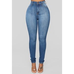 Fashion Nova High Waisted Skinny Jeans - NWT